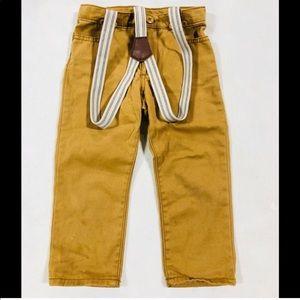 👙 Baby Oshkosh khaki pants 2T